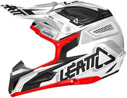 black motocross helmets leatt gpx 5 5 motocross helmet white black red buy cheap fc moto