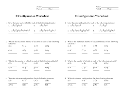 quantum numbers practice worksheet with answers the best and