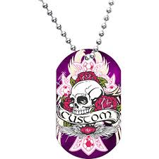 personalized dog tag necklace dog tags bodycandy