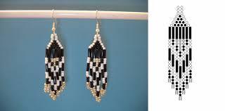earrings diy 15 diy seed bead earring patterns guide patterns