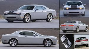 Dodge Challenger Length - dodge challenger srt8 silver 2009 pictures information u0026 specs