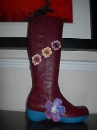 s boots calf length camper s boots calf length cherry brown leather eu 38 e uk