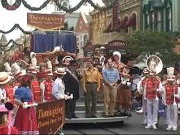 thanksgiving turkey parade at disney world