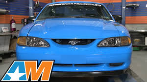 1994 mustang gt headlights mustang smoked oe cobra style headlights 1994 1998 all review