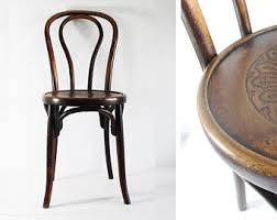 Vintage Wood Chairs Bentwood Chair Etsy
