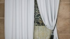 Blackout Curtains White Custom Black And White Solid Bedroom Curtains Regarding Custom