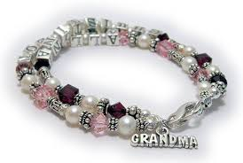 mothers birthstone bracelets dbl ss5 birthstone bracelet with birthstone crystals and