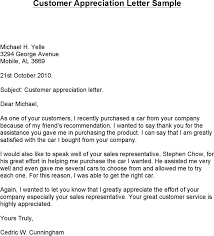 customer thank you letter template free speedy client