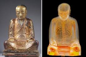 statue with robs webstek buddha statue with mummy in hospital
