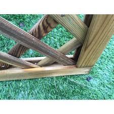 1830mm x 1200mm lattice trellis treated pre finished wooden