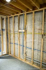 west grey basement renovation wiring insulation and new