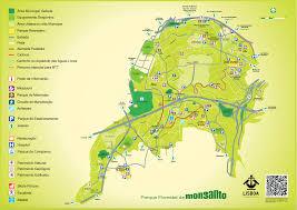 Ou Map Monsanto Park Great Runs