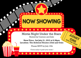 17 best ideas about movie party invitations on pinterest movie