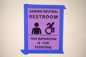 Gender Neutral Bathrooms Debate - one bathroom for all install gender free single user restrooms