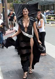 adrianne curry images adrianne curry leggy candids at san diego comic con hawtcelebs