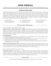 Resume Sles Hotel Sales Resume Templates Instathreds Co