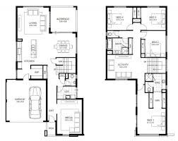 simple two story house design house plan 2 storey house plan with measurement design a plans for