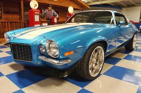 blue chevrolet camaro 1971 chevrolet camaro rs blue white a e cars