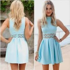 light blue casual summer dresses naf dresses