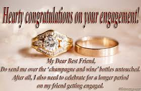 congratulate engagement best engagement wishes and quotes for friend wishesmsg