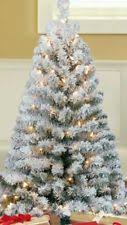 artificial christmas trees in type fiber optic tree height 4 6ft