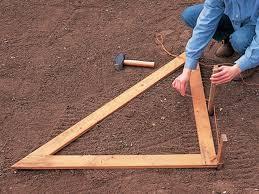 How To Build A Wooden Pergola by How To Prepare For Building An Arch Or Pergola Diy