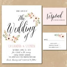 how to print your own wedding invitations inspiring collection of print your own wedding invitations to