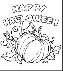 Happy Halloween Printable by Incredible Cartoon Vampire Coloring Pages With Halloween Printable