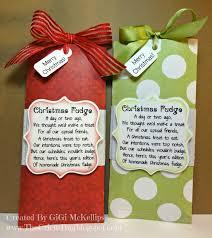 the cricut bug christmas fudge