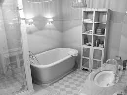 Black White Bathroom Ideas Black And White Bathroom Tile Design Ideas Natural Home Design