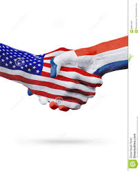 Dominican Republic Flags United States Dominican Republic Flags Concept Cooperation