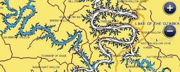 cove lake of the ozarks map benefits lake of the ozarks bassing fishing