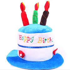 wholesale childrens funny happy birthday cake hat candle hat for