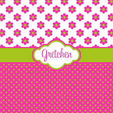 Lime Green Polka Dot Curtains Pink Flower And Polka Dot With Lime Green By Peryourstyle