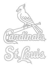 st louis cardinals coloring pages with regard to really encourage