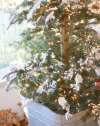 Snow Flocking For Christmas Trees by Erin U0027s Art And Gardens My Glowy And Snowy Flocked Tree