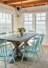 Nautical Dining Room Nautical Dining Table Cottage Kitchen Table And Chairs