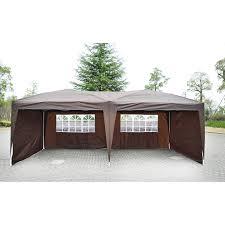 Canopy Tent Wedding by Outsunny 10 U0027x20 U0027 Pop Up Party Tent Outdoor Patio Instant Wedding