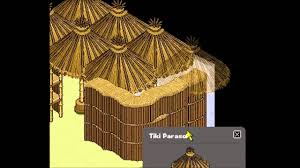 How To Make Tiki Hut Habbo How To Make A Hut Youtube