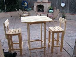 Easy Diy Patio Furniture by Backyard Patio Decorating Ideas St Moritz Bar Height Outdoor Sets