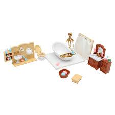 dolls house kitchen living room bedroom miniature sofa furniture