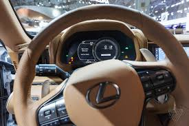 lexus ls 500 features nobody agrees how the screen in your dashboard should work the verge