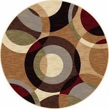 Circle Area Rug The Amazing Circle Area Rugs Brown Area Rugs House Design Idea