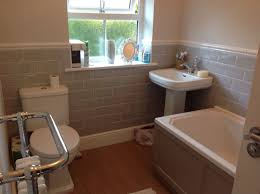 grey metro tiles rac decor bathroom roper rhodes hampton bath