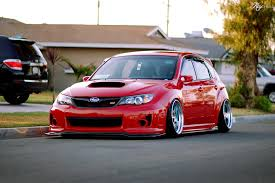subaru impreza hatchback modified stanced subaru sti hatchback dream cars pinterest subaru sti