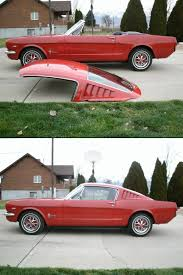 mustang fastback roof mustang fiberglass fastback roof for convertible shut up and take