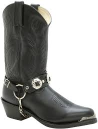 harness biker boots db560 durango men u0027s harness chain western boots black durango