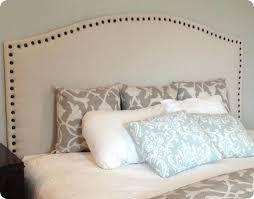 Upholstered Headboard King Bedroom Set White Cloth Headboard U2013 Senalka Com