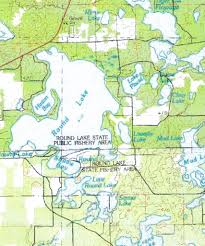 Wisconsin County Maps by Round Lake Maps
