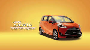 toyota slogan toyota all new sienta unlock your playground youtube